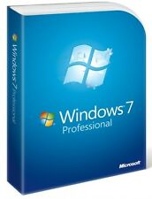 Licencia Windows 7 Pro / profesional 32/64 bit 1 Pc 100 % ORIGINAL - CLAVE / KEY