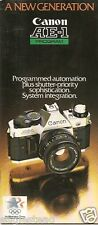 Camera Brochure - Canon - AE-1 Program - c1980's (CB04)