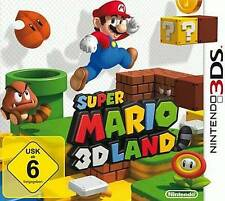 Nintendo 3ds Super Mario Land 3d * Deutsch * * muy buen estado