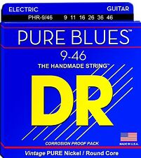 DR Guitar Strings Electric Pure Blues Vintage Pure Nickel 9-46