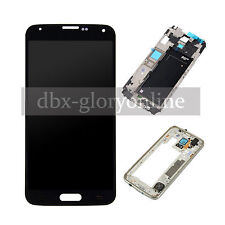 LCD Display Touch Screen Digitizer + Frame + Tools For Samsung Galaxy S5 G900f