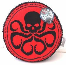 """Marvel Agents Of S.H.I.E.L.D Decorative Cushion Pillow Round Black/Red 15"""" x 15"""""""