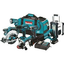 Makita XT702 18-Volt LXT Lithium-Ion Cordless 7-Piece Combo Kit