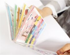 Korean Lovely Cartoon Diary Book Decoration Sticker ( 8 Sheets)