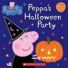 Peppa's Halloween Party (Peppa Pig: 8x8)-ExLibrary