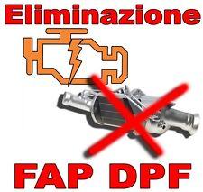DPF REMOVAL FAP OFF RIMOZIONE FILTRO ANTIPARTICOLATO + OMAGGIO
