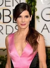"Sandra Bullock in a 8"" x 10"" Glossy Photo 2014 Golden Globes HQ"