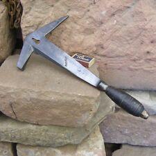 antiker Hammer Schieferhammer handgeschmiedet Turm gemarkt Dachdeckerhammer