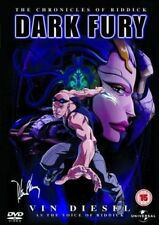 DARK FURY - The Chronicles Of Riddick  (DVD 2007) Animation, voice Vin Diesel***
