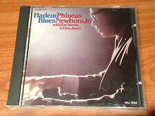 PHINEAS NEWBORN JR. HARLEM BLUES JAPAN CONTEMPORARY VDJ-1558 1st PRESSING 1986