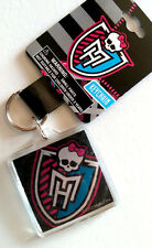 NWT Monster High Shimmer Keychain Keyring - Monster High Logo