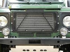 Stainless Steel Grille Powder Coated Black for Land Rover Defender DA2356B