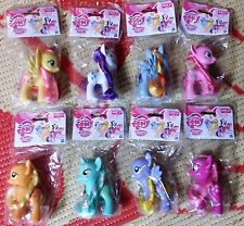 "My Little Pony Friendship is Magic 3"" Target set of 8 Bagged Ponies Applejack"