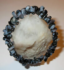 MAGICAL RARE  MYSTIC MERLINITE NATURAL ENERGY WORK CRYSTAL BRACELET