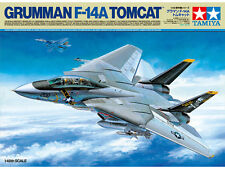 Tamiya 61114 1/48 Scale Model Aircraft Kit U.S Navy Grumman F-14A Tomcat Fighter