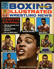 June 1964 Boxing Illustrated Magazine Muhammad Ali Front Cover VGEX