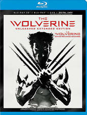 The Wolverine (Blu-ray/DVD, 2013, 3-Disc Set, Canadian 3D 2013)