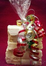 GET HER A SPECIAL GIFT! 5 BARS PURE UNSCENTED GOAT MILK SOAP HAPPY GOAT CREAMERY
