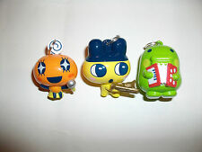Set of 3 Tamagotchi Keyring Charms