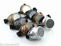 Cyber GOGGLES steampunk Welding Goth Vintage GOGGLES Rustic Ezreal Cosplay
