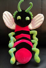 B.J. Toy Co Red Lightning Bee stuffed/plush bug - 17""