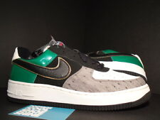 2004 Nike Air Force 1 MITA OSTRICH BLACK WHITE FOREST GREEN GREY 307334-001 9.5