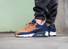 Nike Air Max 90 PRM 'Ale Brown' 700155-201 Mens Sz 10.5 Ale Brown/Midnight Navy