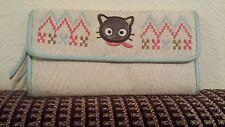Women Vintage's Chococat Cute Long Wallet crochet