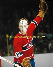 WAYNE THOMAS In ACTION Up CLOSE 8x10 Photo MONTREAL CANADIENS Star GOALIE WoW