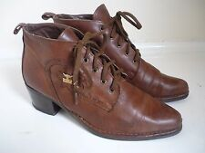 Vintage Joe Sanchez Soft Brown Leather Ankle Boots Size 36 / 3
