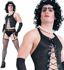 Mens Frank N Furter Rocky Horror Picture Show Fancy Dress Costume Halloween