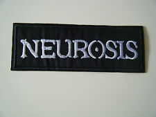 NEUROSIS PATCH Embroidered Iron On Hardcore Doom Godflesh Sunn O))) Badge NEW