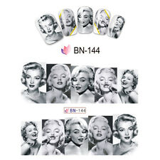 Nail Art Manicure Water Transfer Decal Stickers Marilyn Monroe BN144