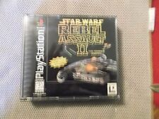 Star Wars: Rebel Assault II -- The Hidden Empire (Sony PlayStation 1, 1996)  COM
