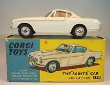 Corgi Toys 258 Volvo P 1800 The Saint´s Car Simon Templar in O-Box #4433