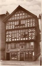 Oldest House Shop Front Chester  unused RP old pc Pelham