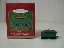 Hallmark Ornament 2000 THE TENDER Lionel Train Collector's Series NEW Steam War