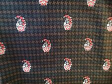 Remnant from Houndstooth Vera Bradley Napkin gr8 4 crafting,quilting