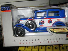 1/25 Liberty Classics 1930 Ford Model A Sedan Pepsi logo-FREE SHIPPNG