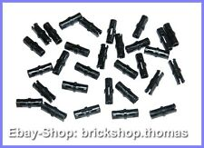 Lego Technic 30 x Verbinder schwarz - 2780 - Connector Pins Black - NEU / NEW