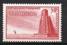 France : 1952 Yvert 925 ( Bir Hakeim  ) MNH