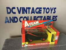 Vintage 1983 GALOOB A-TEAM TACTICAL VAN PLAY SET, B.A. Baracus Mr.T