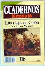 CUADERNOS HISTORIA 16 - Nº 116 - LOS VIAJES DE COLÓN - VER DESCRIPCIÓN E ÍNDICE