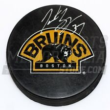 Patrice Bergeron Boston Bruins Signed Autographed Bear 3rd Logo Hockey Puck