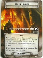 Lord of the Rings LCG  - 1x Up in Flames  #030 - The Steward's Fear
