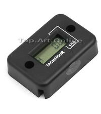 Tachometer Hour Meter For Motorcycle ATV Snowmobile Boat 2/4 Stroke Gas Engine