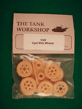 Tank Workshop 1/35 Resin WWII German Opel Blitz Wheels