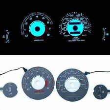 INDIGLO GLOW GAUGE DASH FACE EL CLUSTER FOR Mitsubishi Eclipse non turbo 95-99