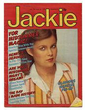 JACKIE Magazine 24/6/1978 Genesis Status Quo Abba Henry Winkler Showaddywaddy