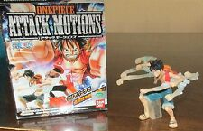 One Piece - Monkey D. Ruffy - Attack Motions Figur - original Bandai Luffy OOP